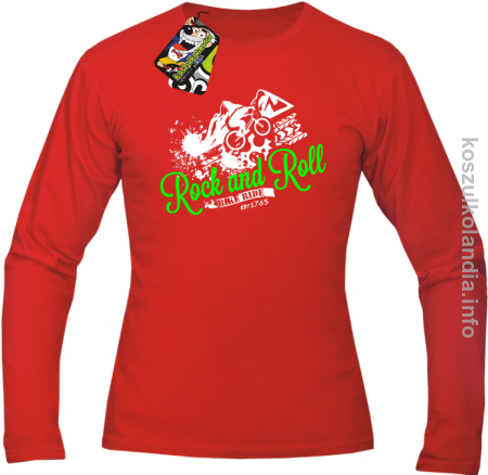 Rock & Roll Bike Ride est 1765 - Longsleeve męski