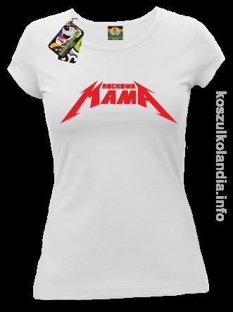 Rockowa Mama Koszulka Damska