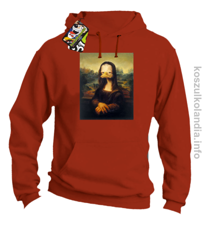 MonaLisa Mother Ducker - Bluza męska z kapturem
