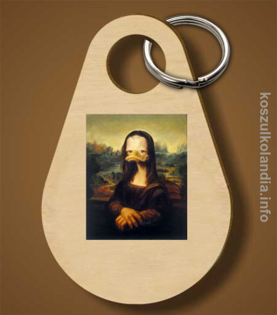 MonaLisa Mother Ducker - Breloczek
