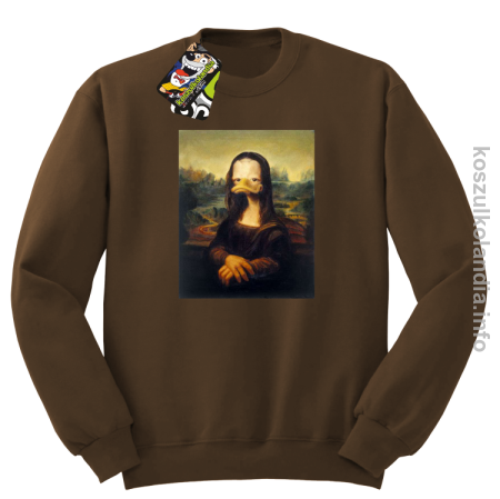 MonaLisa Mother Ducker - Bluza męska standard