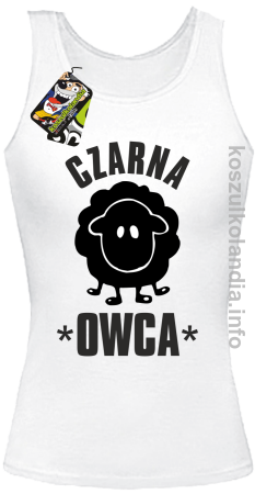 Czarna owca - Black Sheep - top damski